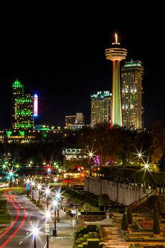 NIAGARA FALLS CANADA Nightscape sur