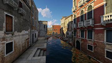 Kanal von Venedig von H.m. Soetens