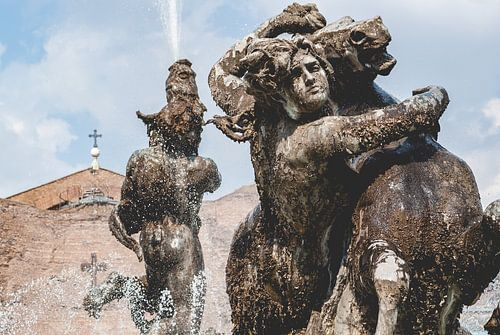 Naiads fontein op het Piazza della Repubblica in Rome