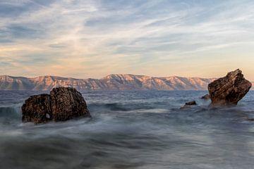sunset @ Mljet von Steve Mestdagh