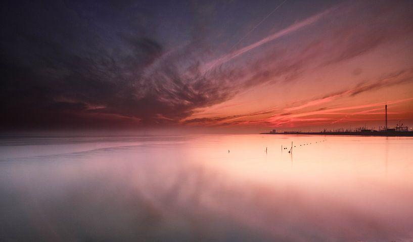 De stilte van de Waddenzee van Jef Folkerts