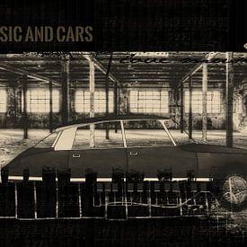 Citroen DS Music and Cars van Carla van Zomeren
