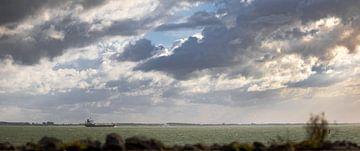 Scheepvaart over de Westerschelde van Percy's fotografie