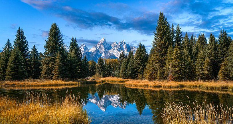 Parc national du Grand Teton sur Reinier Snijders