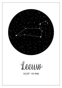 Sternbild Löwe, niederländisch von Nynke Altenburg