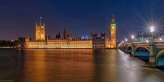 House of Parlement in London van Bob de Bruin