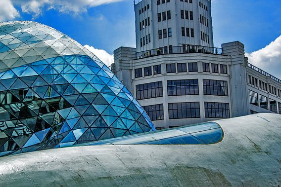 Een blauw Eindhoven van Martijn Aalbers