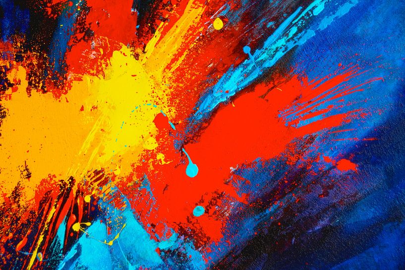 Farbexplosion von Claudia Neubauer