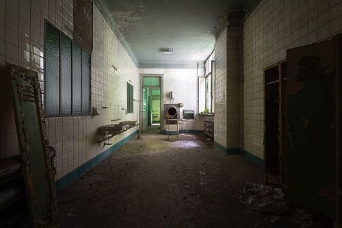 Kamer in Verlaten Ziekenhuis.