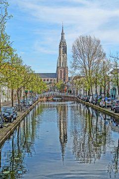 Nieuwe kerk Delft van Rico Heuvel