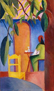 Café turc, August Macke sur