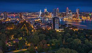 Panorama de Rotterdam | Kop van Zuid | Euromast sur Rob de Voogd / zzapback
