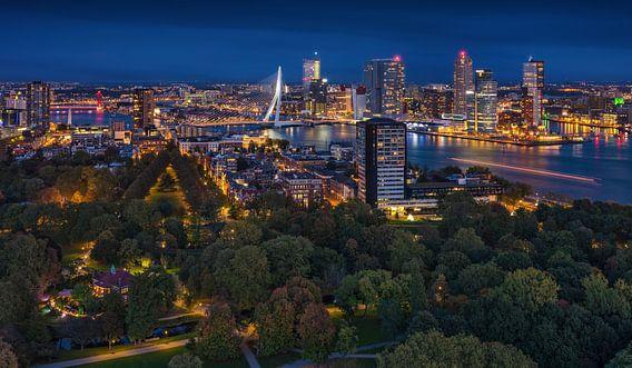 Rotterdam panorama | Kop van Zuid | Euromast