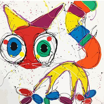 Rotkopf-Katze von Jacky Zegers