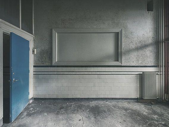 Cum Laude - toilet 1 van Olaf Kramer