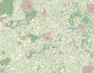 Kaart vanHof van Twente van