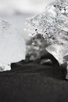Druppel en ijsblok van mathis_vdm