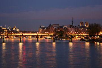 Parijs bij nacht van Anouk Davidse
