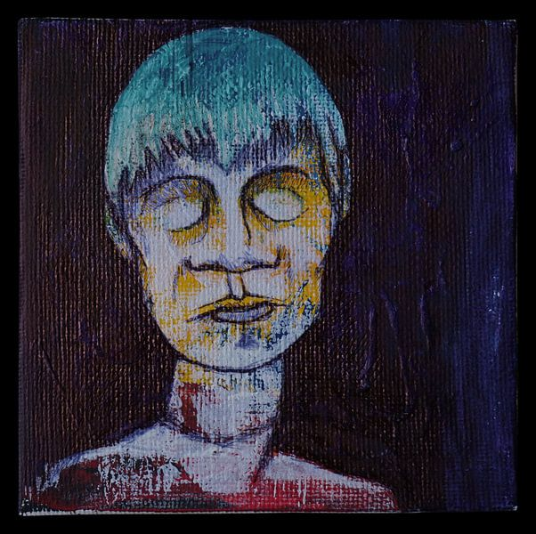Slapend Portret van Kuba Bartyński