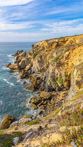 Rotsachtige kust van Alentejo, Portugal