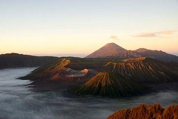 Bromo vulkaan Java van Irene Colen