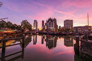 Oude Haven rosa Dämmerung, Rotterdam