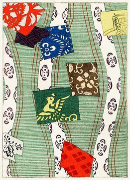 Illustratie van Japanse motieven, Watanabe Seitei