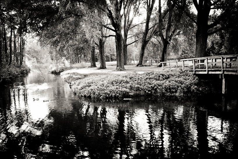 Black and white Park van Robert Kersbergen
