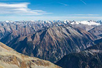 Alpengipfel im Sommer von Peter Leenen