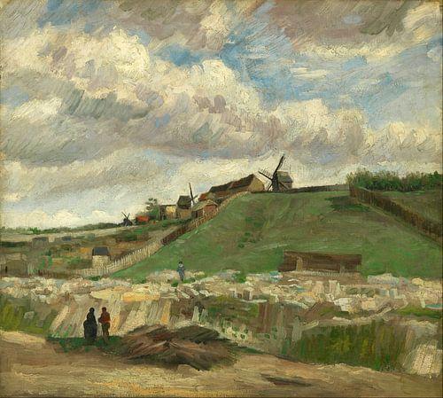 Vincent van Gogh. De heuvel van Montmartre