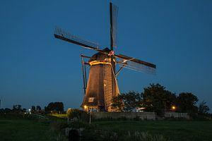 Verlichte molens Kinderdijk #2 van