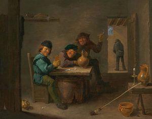 Bauern in einer Taverne, David Teniers II