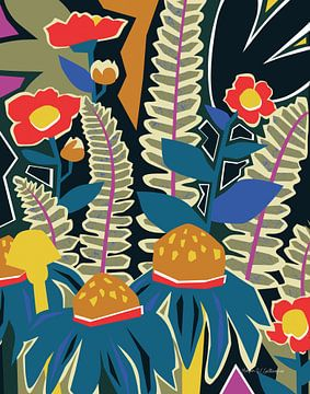 Varens en Wildflowers II, Megan Gallagher van Wild Apple