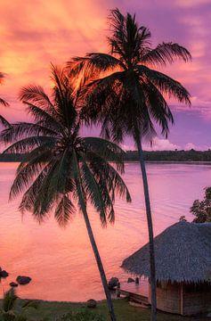 Koh Mak sunset von Jaap van Lenthe