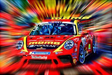 Dylan Pereira's GT3 van Jean-Louis Glineur alias DeVerviers