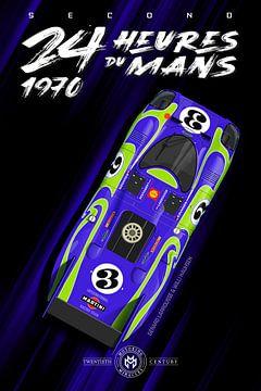 24 Heures du Mans 1970 Bleu