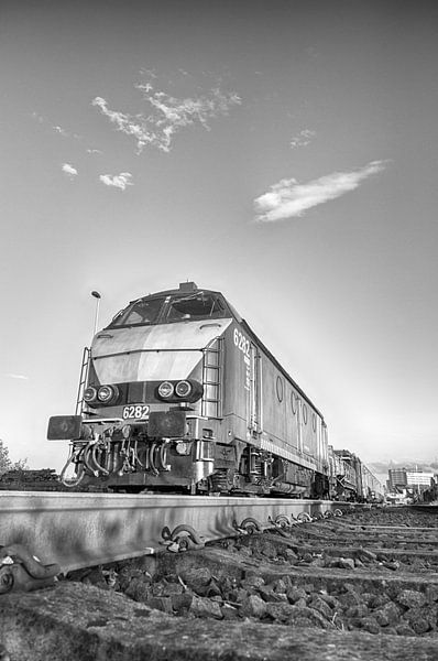 Locomotief van Mark Bolijn