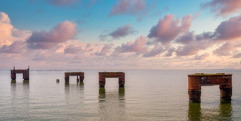 Noordzee Eckwarderhörne van Sabine Wagner
