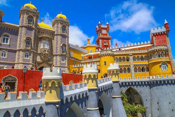 De paleis van Pena - Sintra
