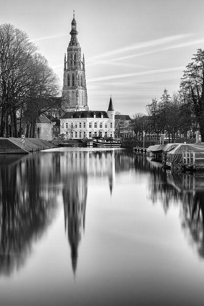 Reflectie Breda Spanjaardsgat van JPWFoto