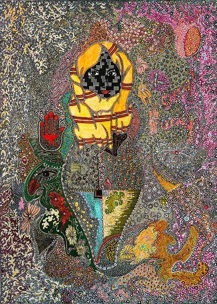 Fatima's Hand van Mohamed Hamida