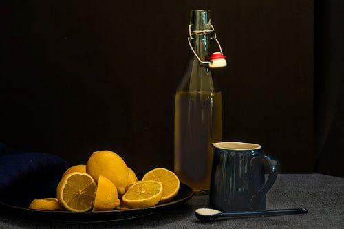 Verfrissende citroenen van Ineke Huizing