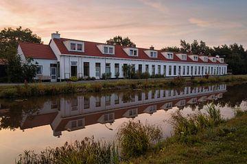 Huisjes Woudbloem Groningen van Marga Vroom