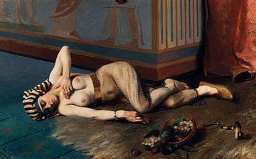 Der Tod von Kleopatra, Georges Girardot - 1884 von Atelier Liesjes