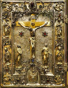Gouden bijbel uit Vaticaan van Atelier Liesjes