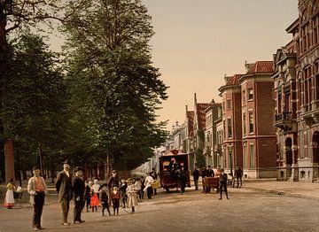 Maliebaan, Utrecht sur Vintage Afbeeldingen