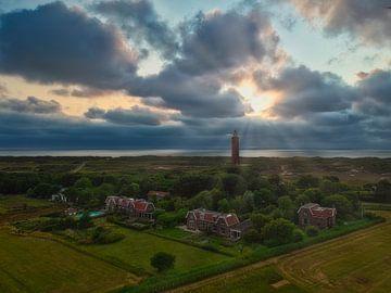 Ouddorp Leuchtturm von Eddie Meijer