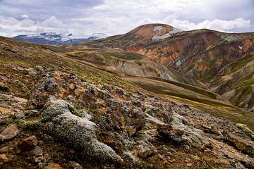 Landmannalaugar te IJsland 1 van
