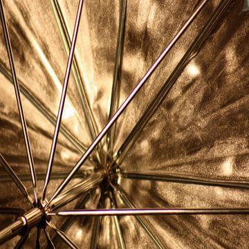 Goldener Regenschirm von Maurice Dawson