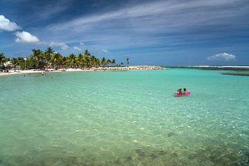 Strand van Sainte-Anne, Guadeloupe van Peter Schickert